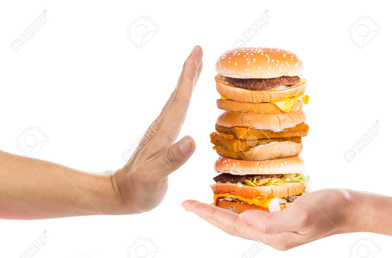 say no to junk food Junk food combined with a lack of exercise is the main cause of our obesity crisis, and the modern office is little more than its unhealthy enabler.