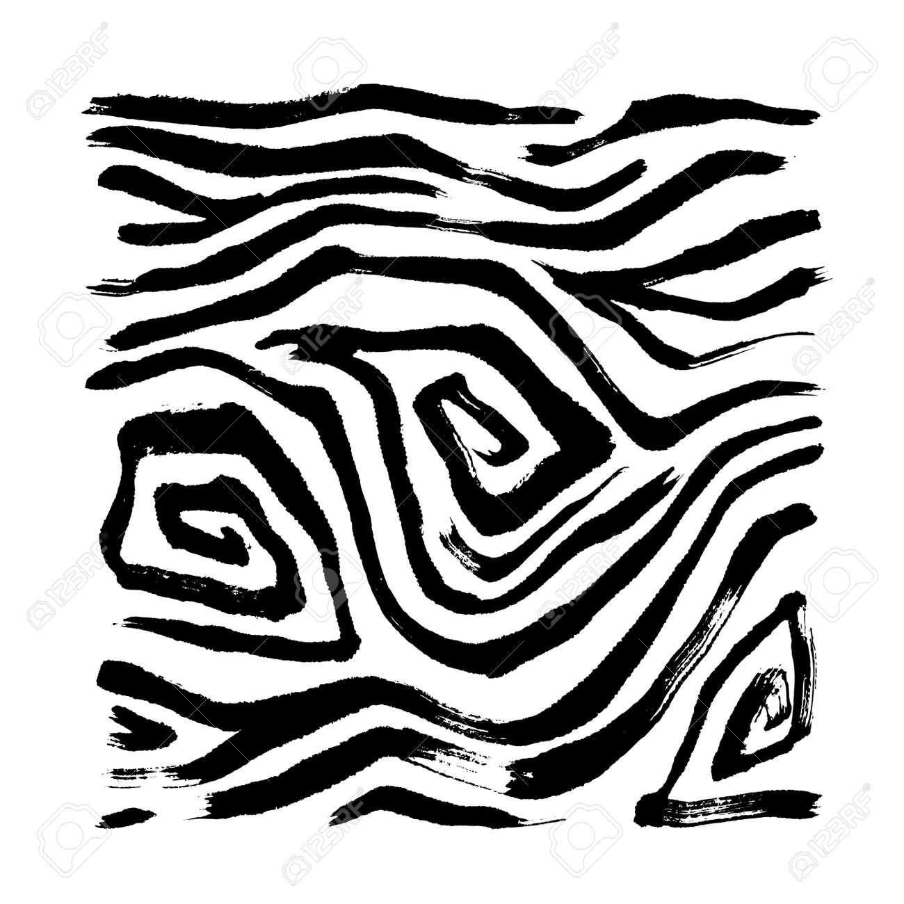 zebra print hand drawn pattern vector illustrations royalty free rh 123rf com zebra pattern vector images zebra pattern vector free download