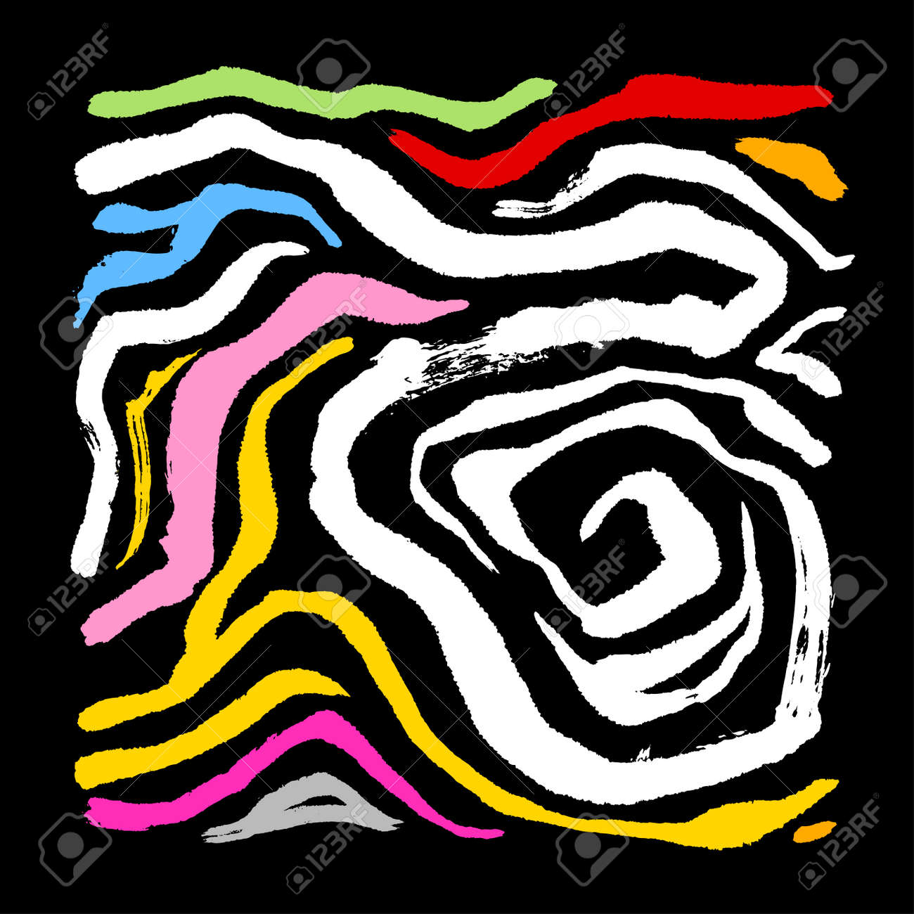 zebra print hand drawn pattern vector illustrations royalty free rh 123rf com zebra print vector art free zebra print seamless vector