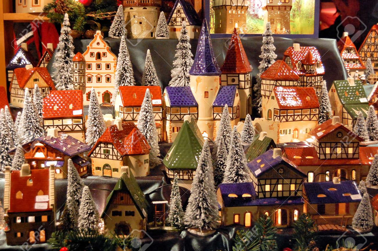Christmas market in Germany Standard-Bild - 8506330