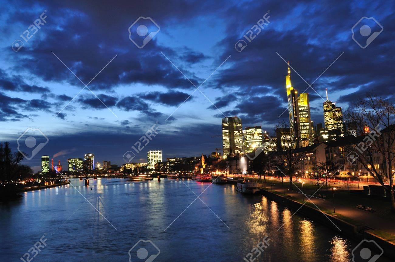 Frankfurt am Main, Germany Standard-Bild - 8508931