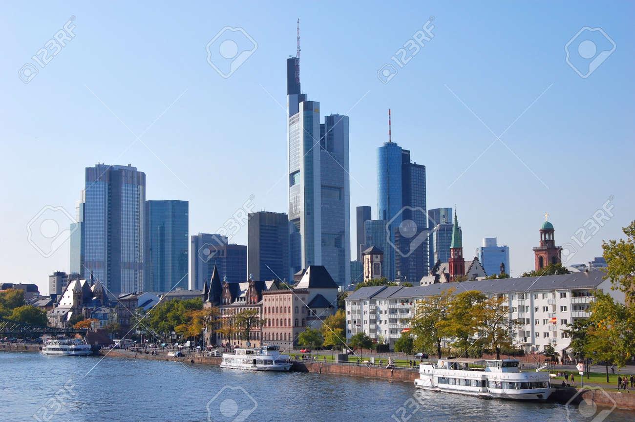 Frankfurt Am Main, Deutschland Standard-Bild - 9102181