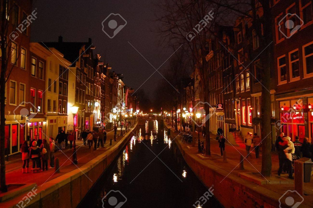 Red Light District - Amsterdam, Netherlands Standard-Bild - 9559997