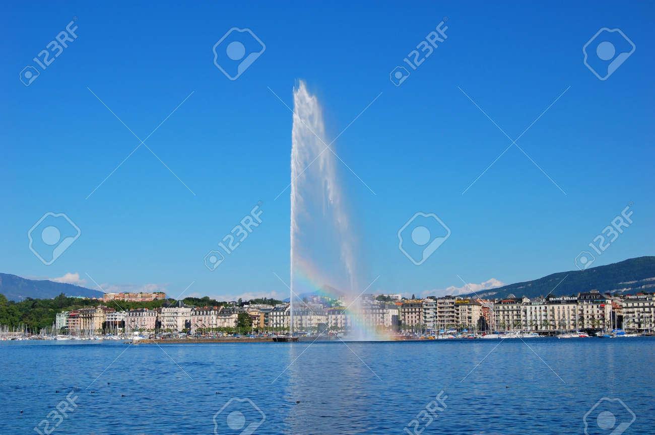 Genf, Schweiz Standard-Bild - 9560086