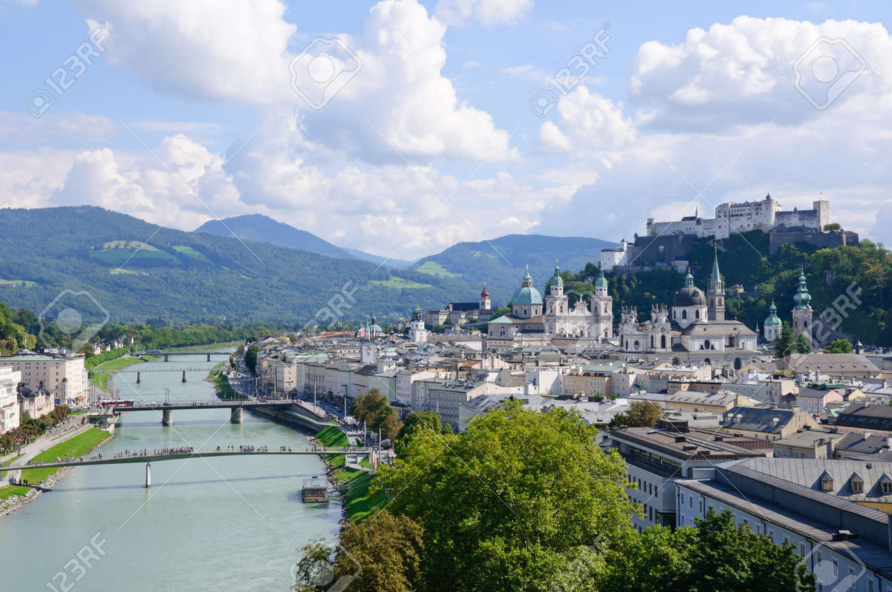 Salzburg, Austria Standard-Bild - 9769844