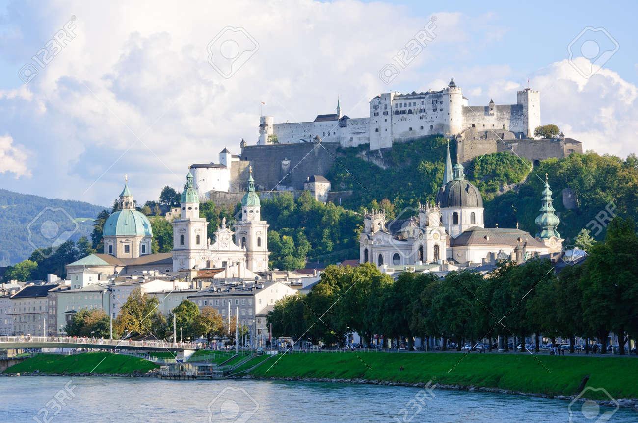 Salzburg, Österreich Standard-Bild - 9769911