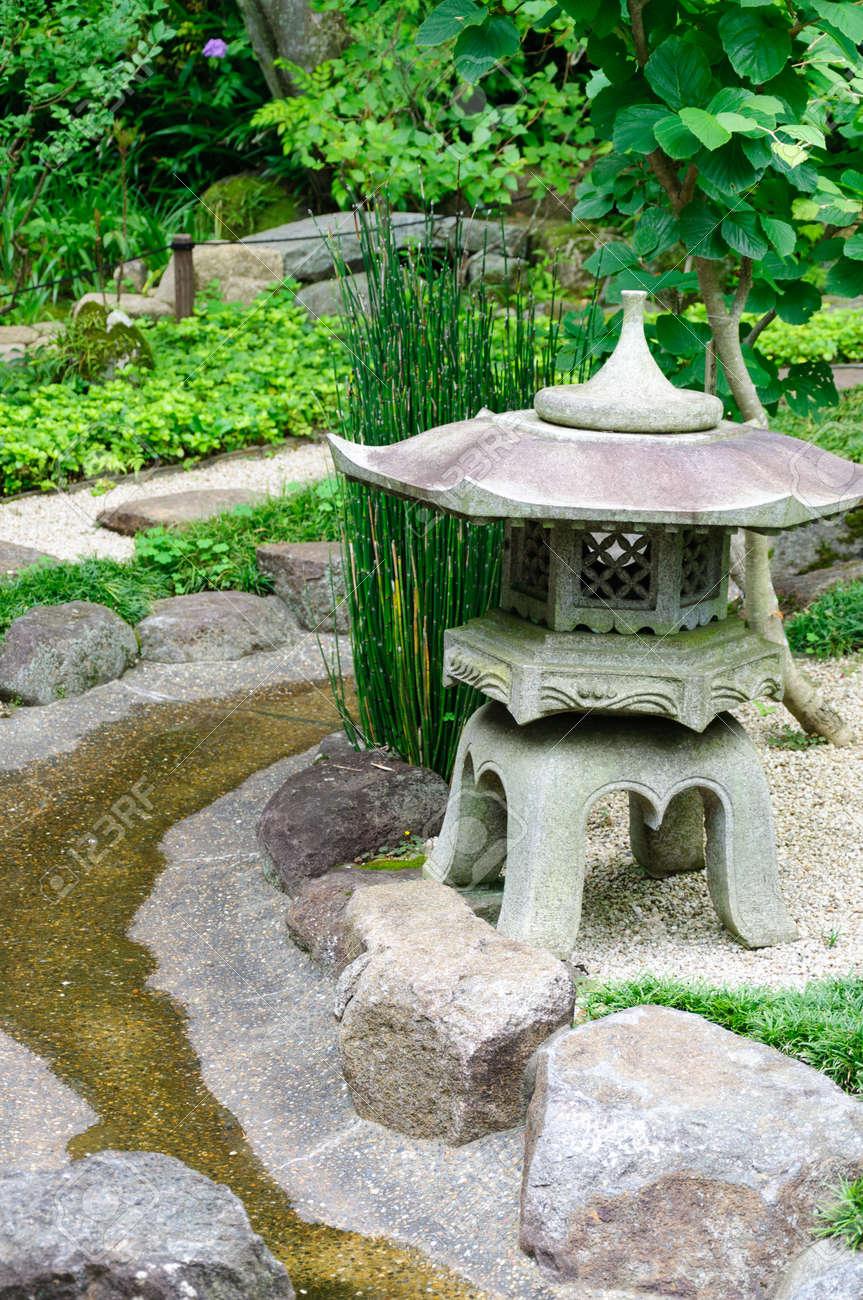 Japanese garden Standard-Bild - 10047343