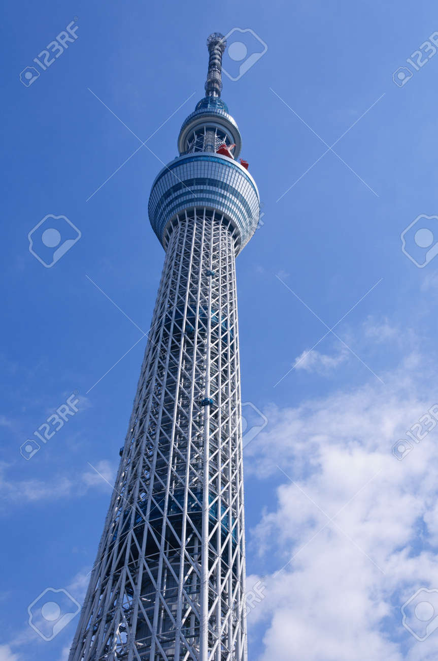 Tokyo Sky Tree Standard-Bild - 10801506