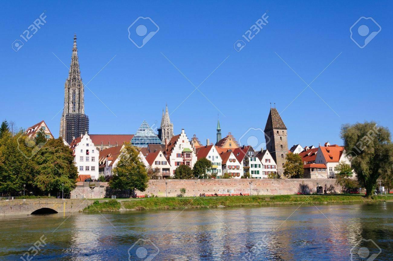 Old Town of Ulm, Germany Standard-Bild - 11097599