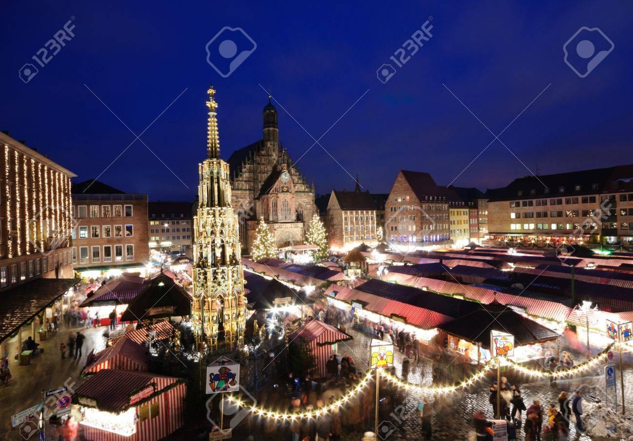 Christkindlesmarkt in Nuremberg, Germany Stock Photo - 11165861