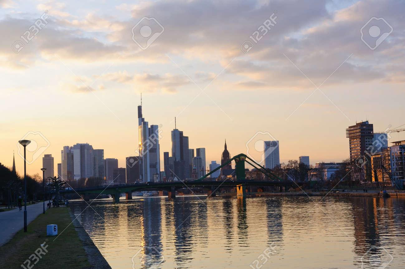 Frankfurt am Main, Germany  Stock Photo - 13072100
