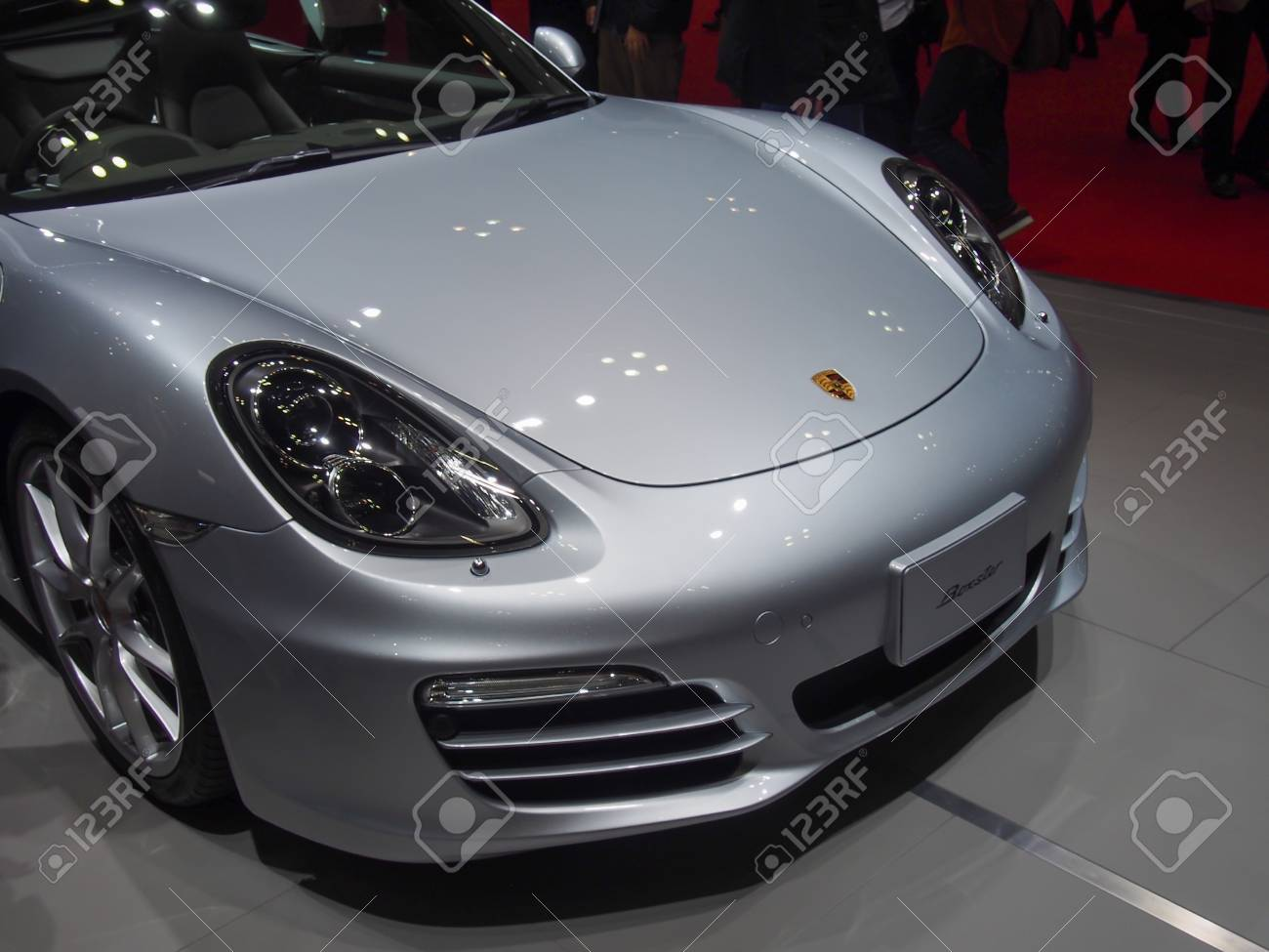 Tokyo Japan November 23 2013 Porsche 911 At The Booth Of Stock