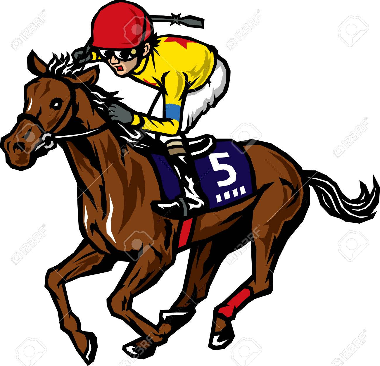 horse racing royalty free cliparts vectors and stock rh 123rf com horse racing clip art free horse racing clip art free download