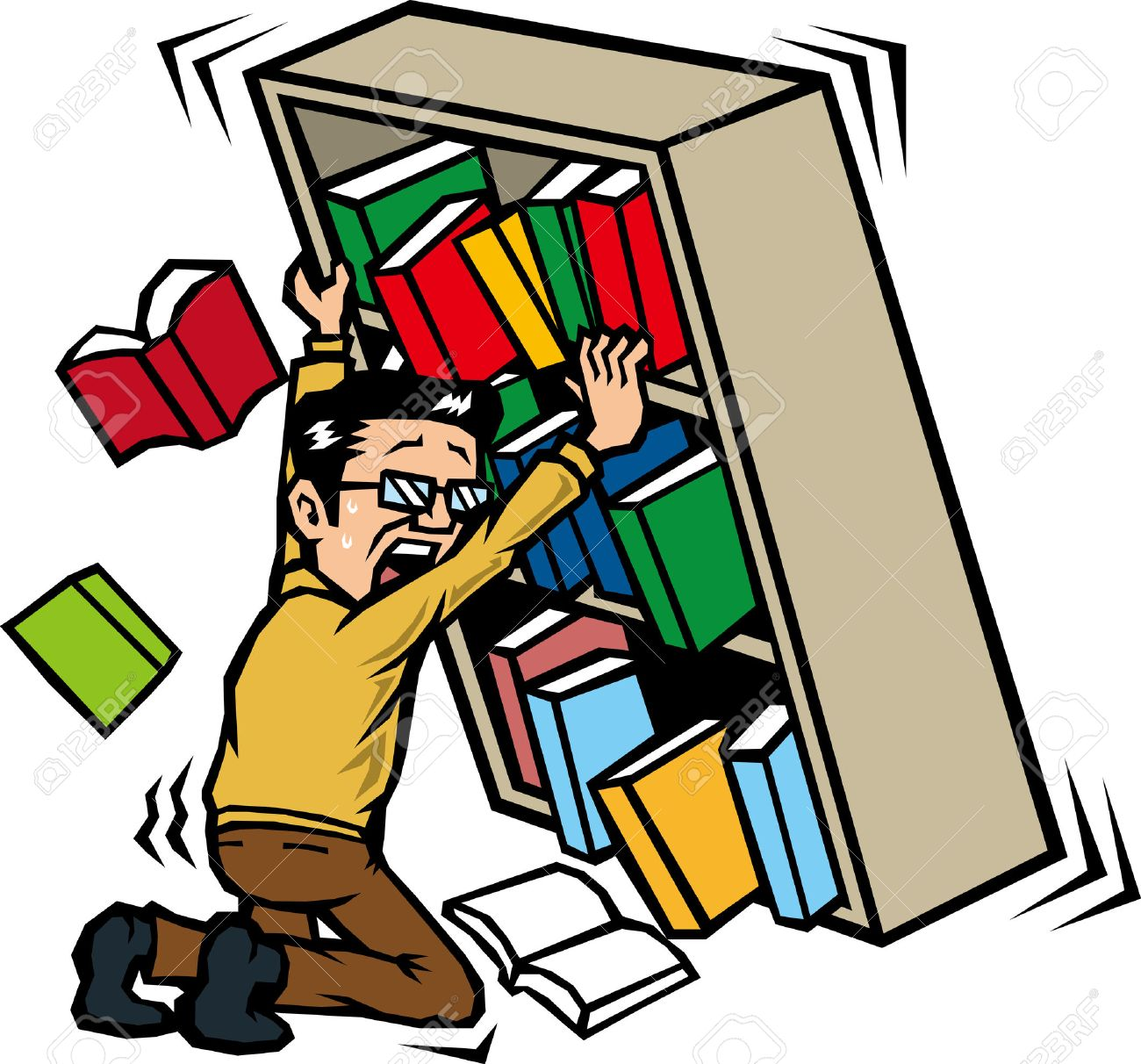 those who hold the bookshelf in the earthquake royalty free cliparts rh 123rf com earthquake clipart pictures earthquake clipart transparent
