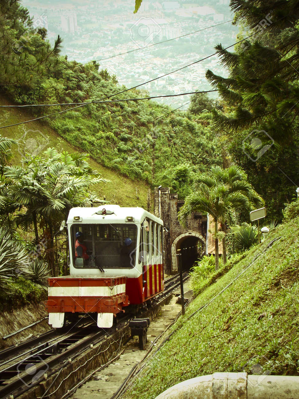 Penang Hill Cable Car Stock Photo - 7673875