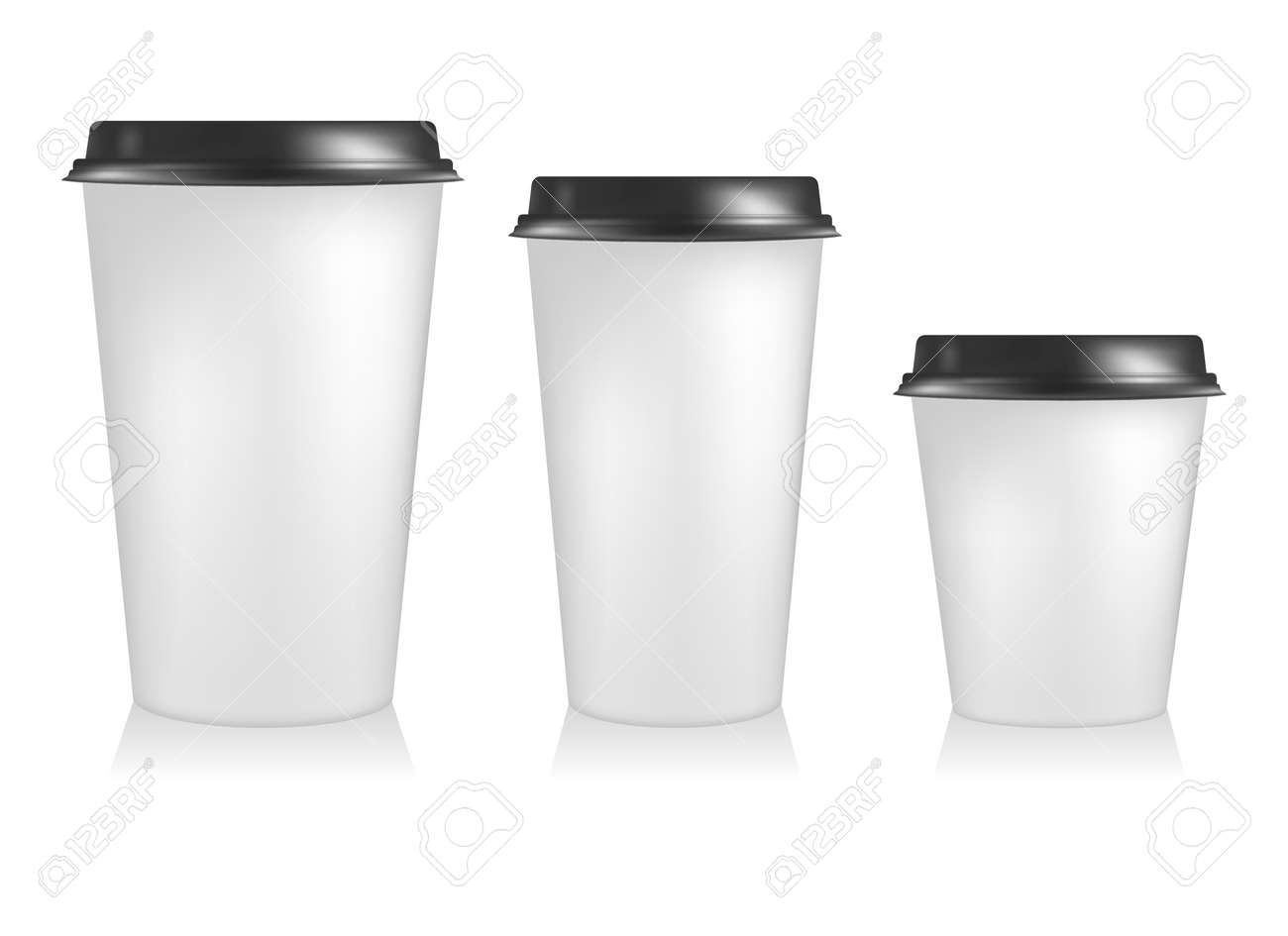 plastic coffee cup templates paper cup to go stock photo picture