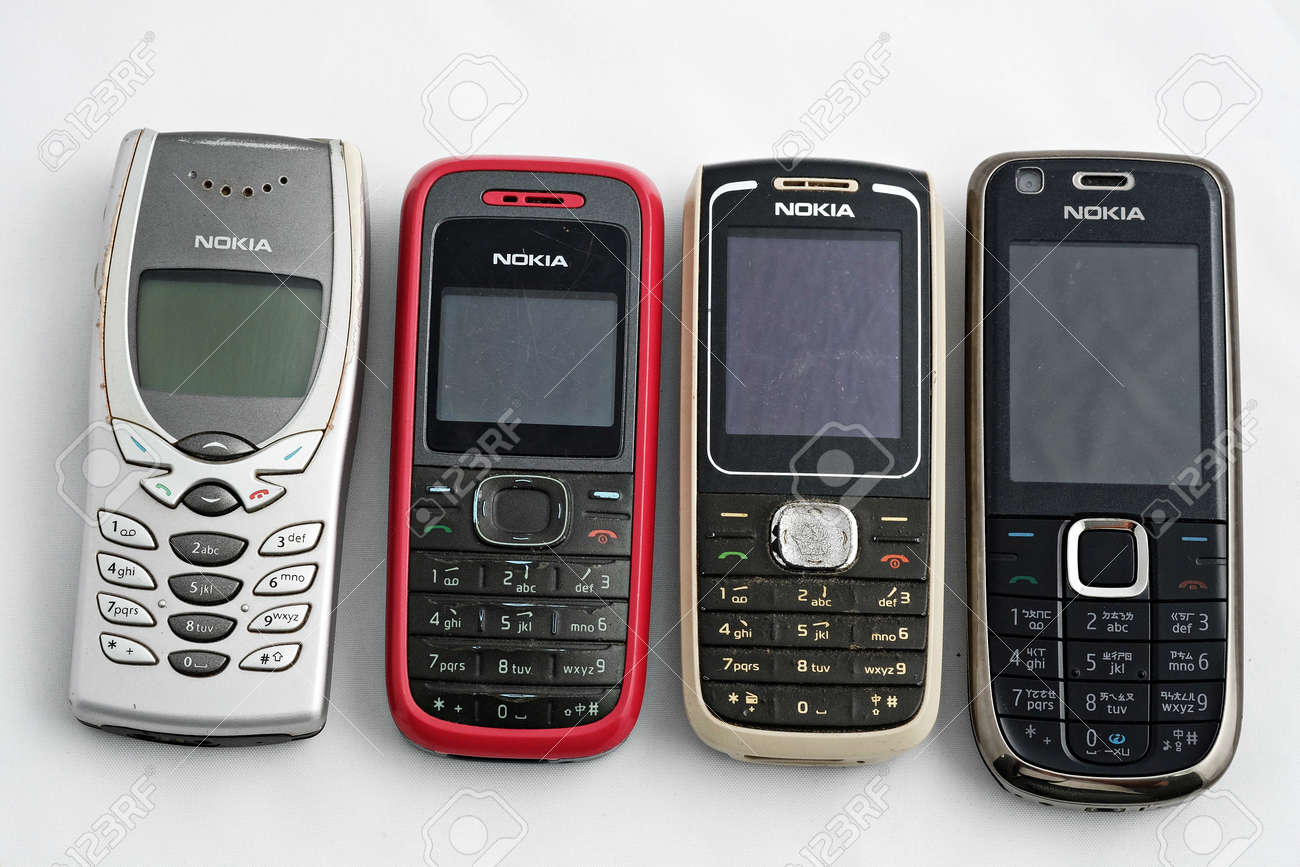 Nokia Old Phones Stock Photo Picture And Royalty Free Image Image 24764610