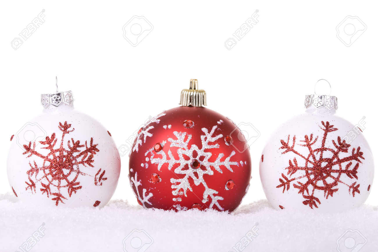 red and white christmas background. red and white christmas ornament background selective focus stock photo 4005146 e