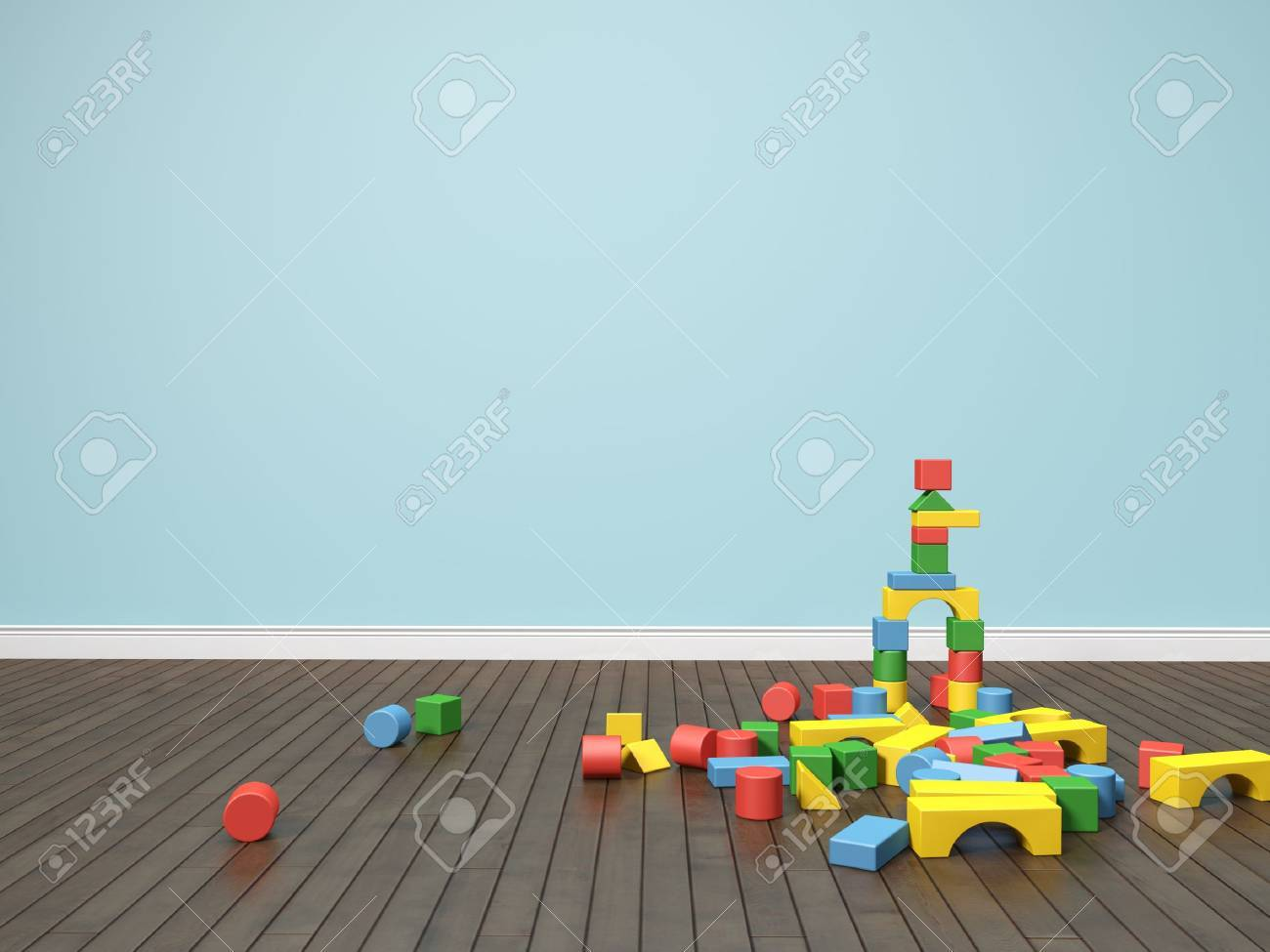 kids room Stock Photo - 13437462