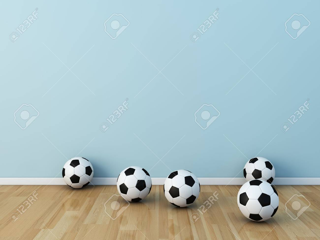 kids room soccerball Stock Photo - 13536046