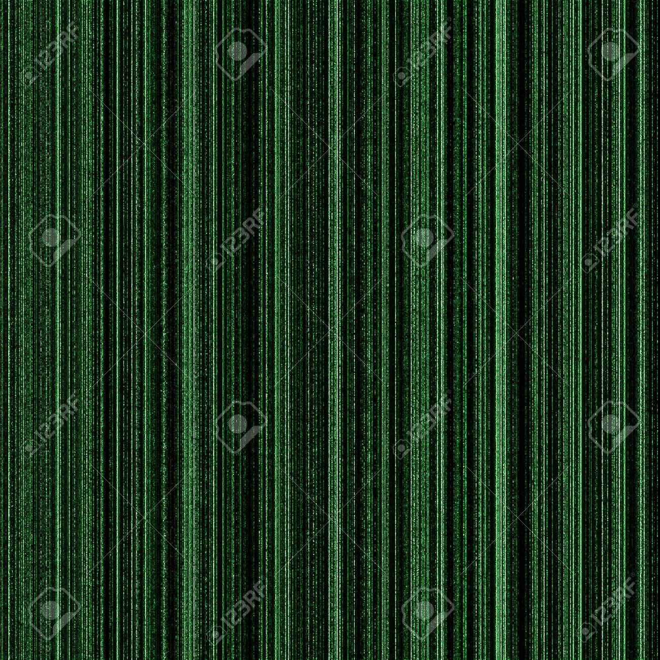 Matrix green background with neon green columns. Stock Photo - 5241430