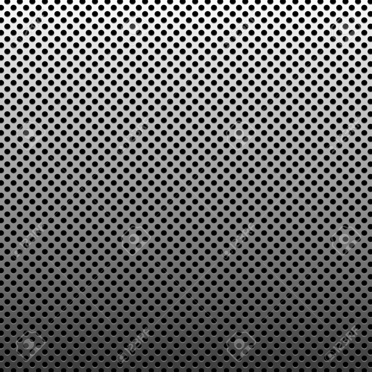 Circle texture metal abstract background with dots Stock Photo - 9538307