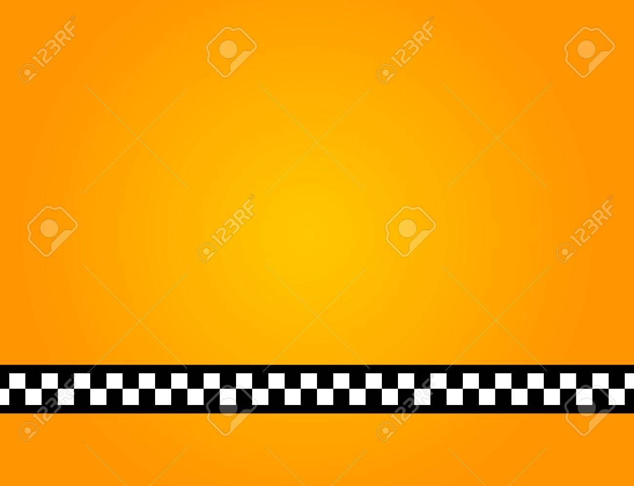 Background of a yellow taxi cab without text Stock Photo - 9741925