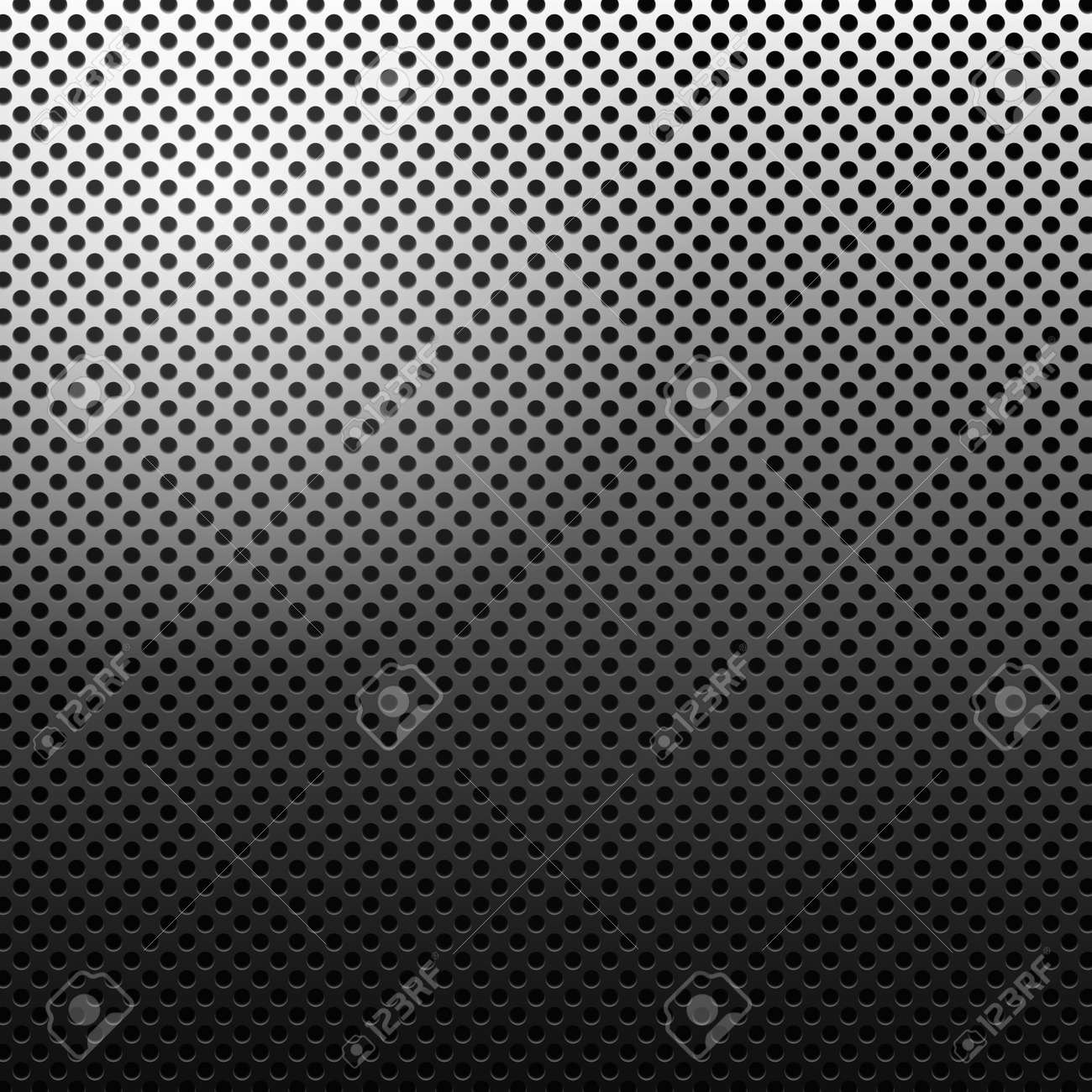 Circle texture metal abstract background with dots Stock Photo - 9970661