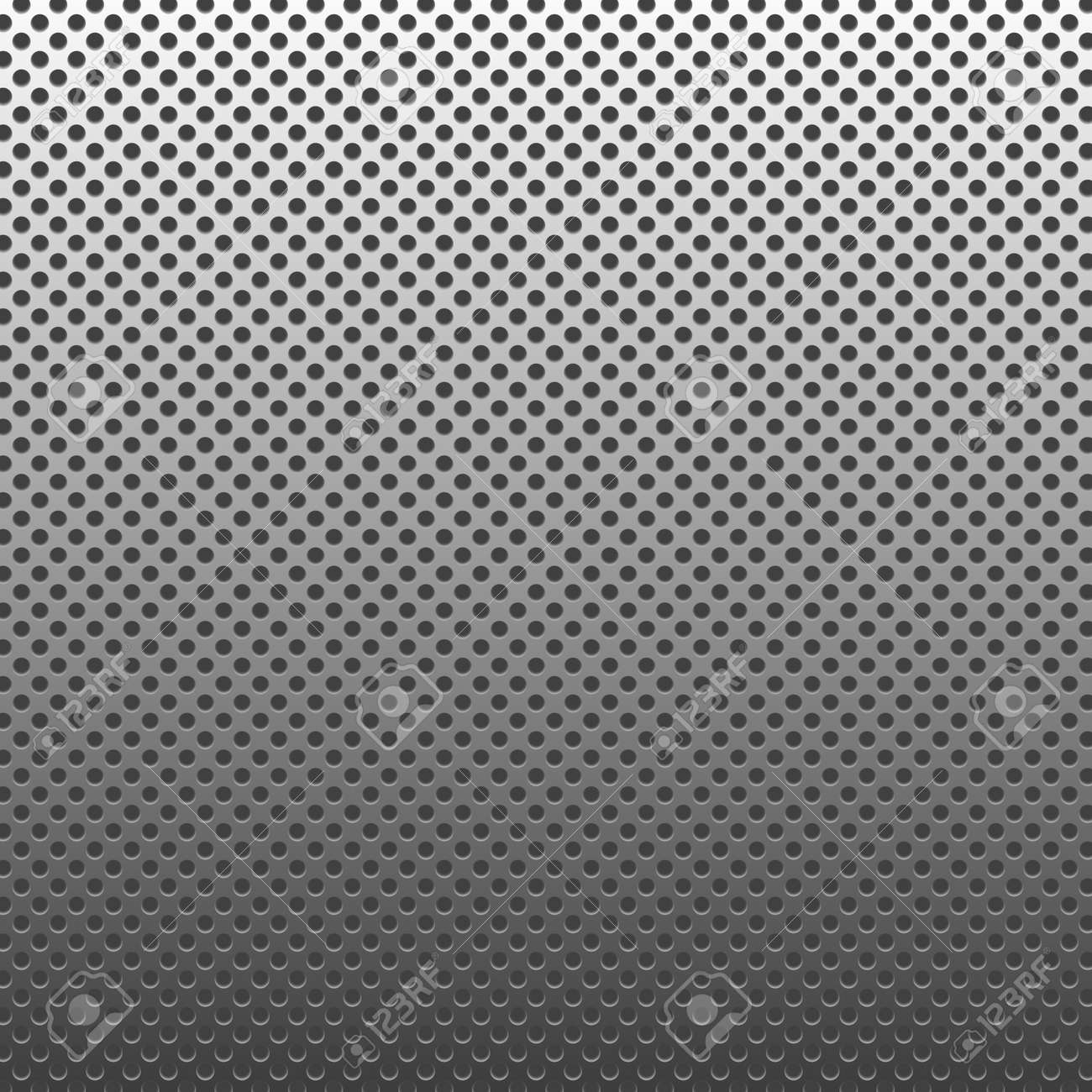Circle texture metal abstract background with dots Stock Photo - 10224724