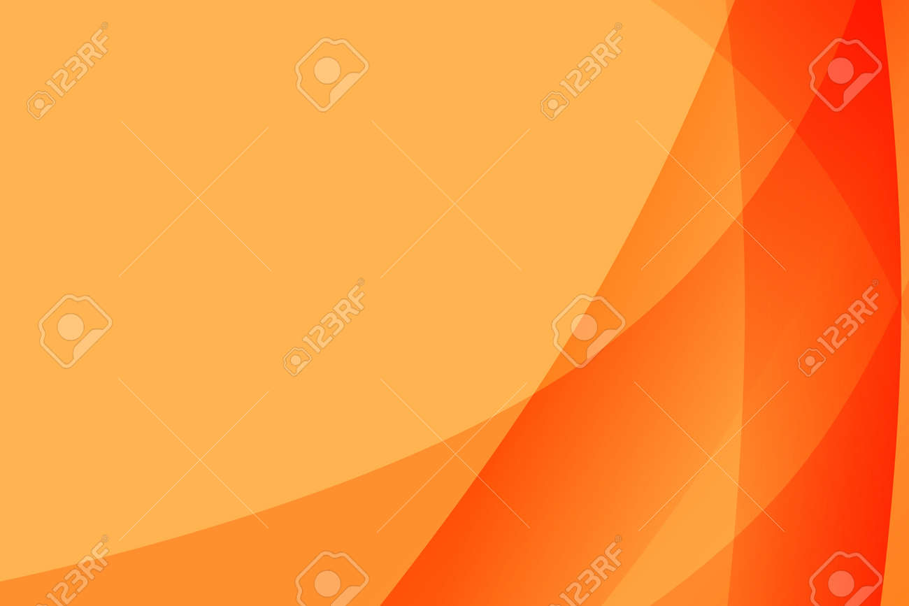 Different Shades Of Orange Background With Different Shades Of Orange On The Right Site Stock