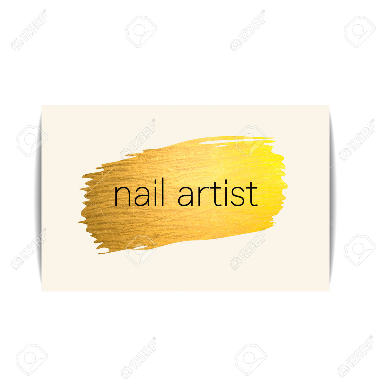 Nail polish business card isolated manicure visit card fashion nail polish business card isolated manicure visit card fashion template for beauty salon or magicingreecefo Images
