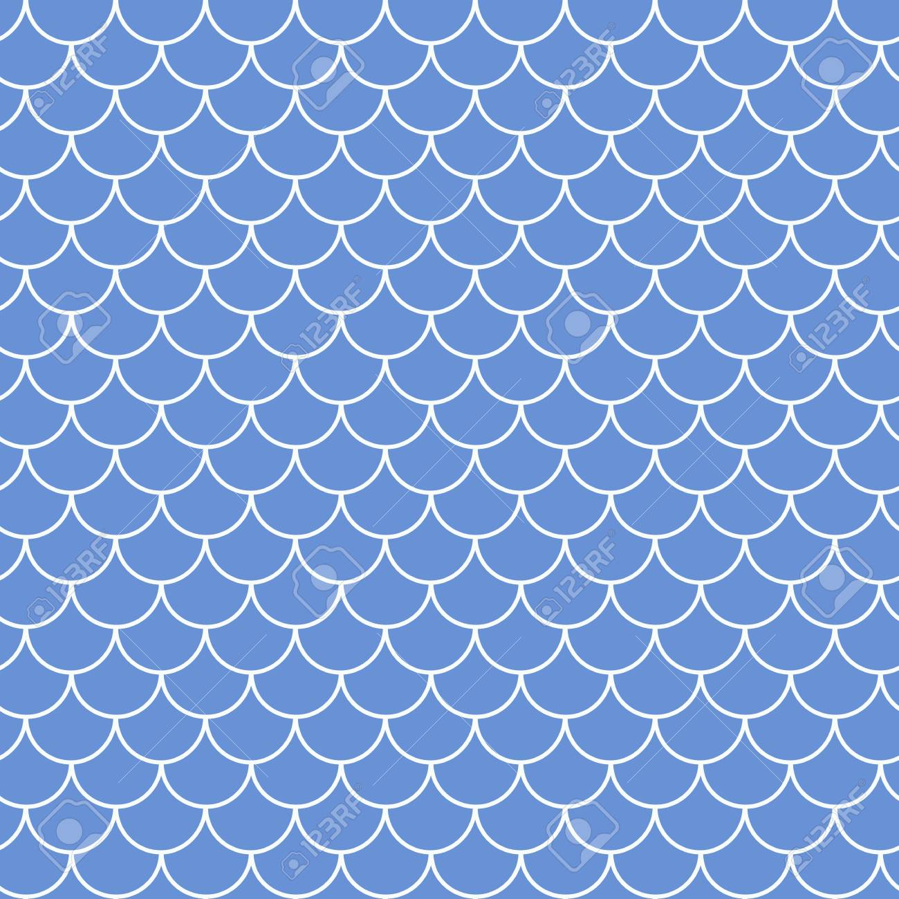 Fish Scale Seamless Pattern Reptile Dragon Skin Texture Tillable