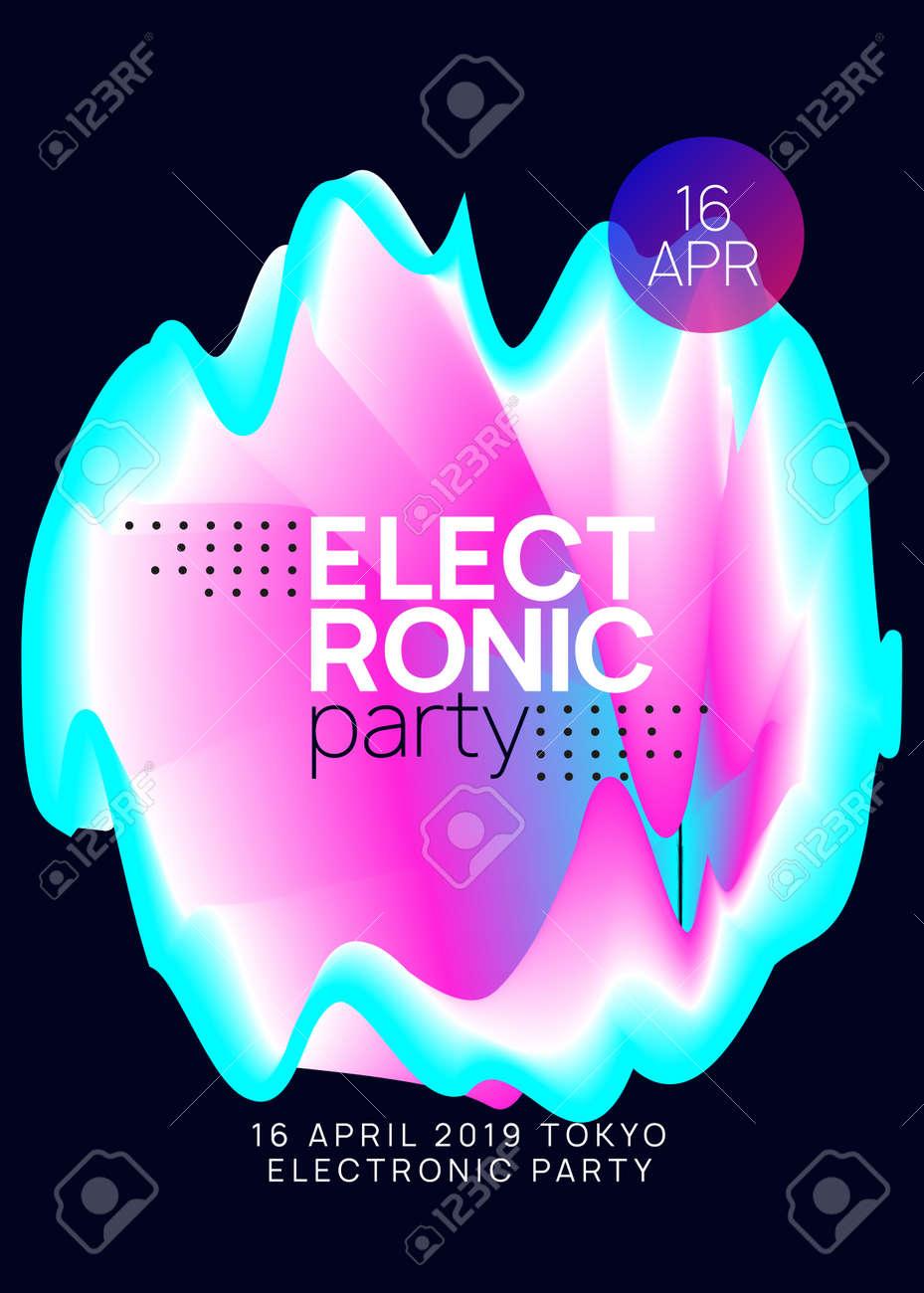 Summer music  Electronic sound  Night dance lifestyle holiday