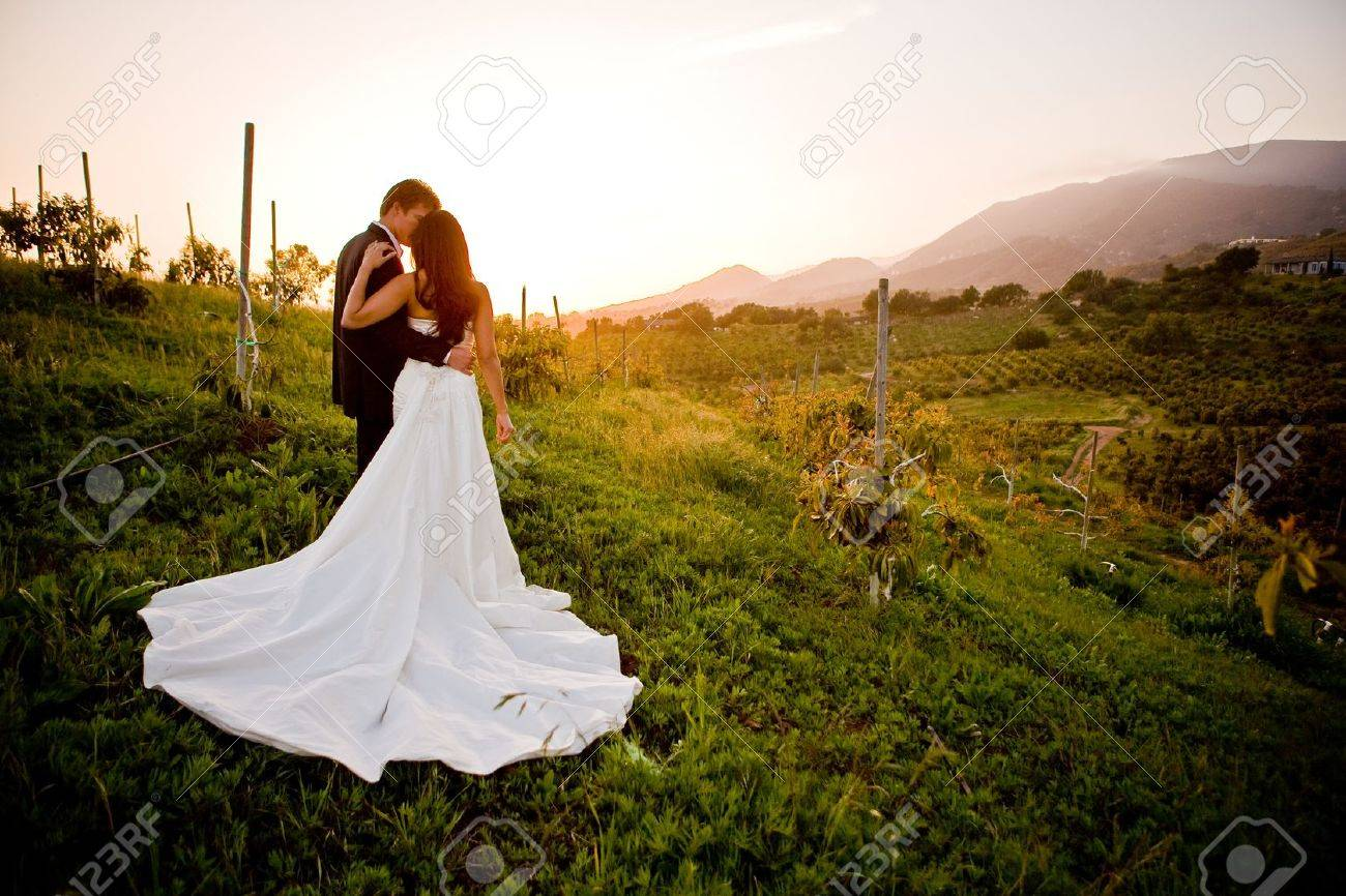 Couple holding each other Stock Photo - 9748535