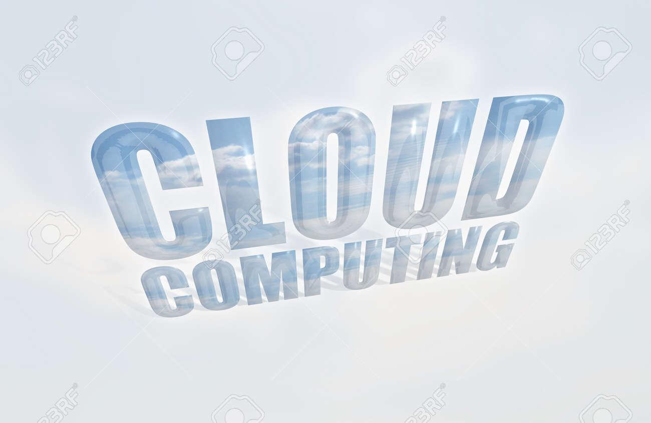 Cloud-based Computing Stock Photo - 9177243