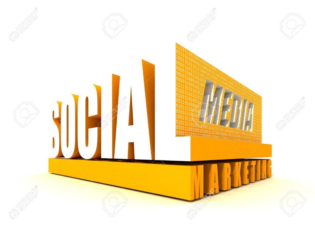 Social Media Marketing Stock Photo - 10960508