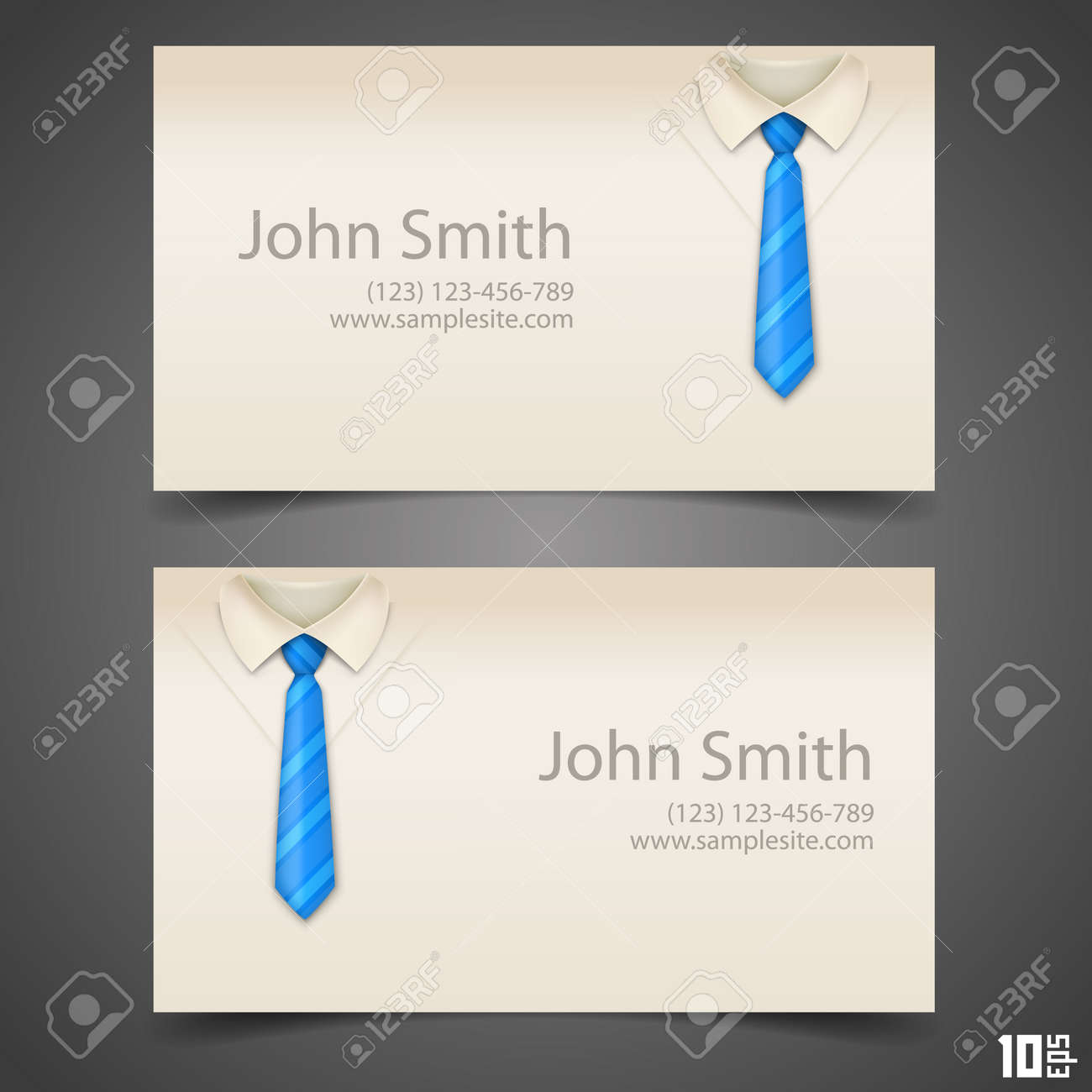 Shirt and tie vector business card art vector illustration shirt and tie vector business card art vector illustration stock vector 36450257 magicingreecefo Choice Image