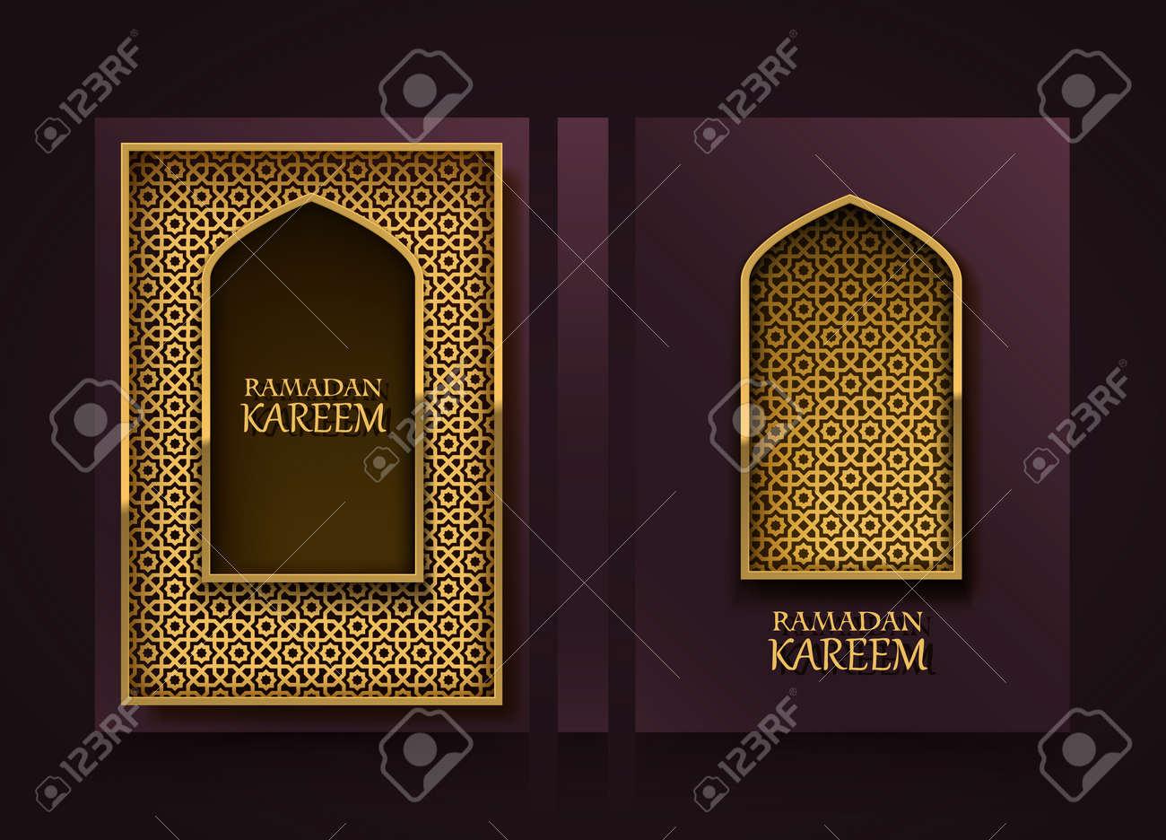 modern vertical banners ramadan kareem cover ramadan mubarak