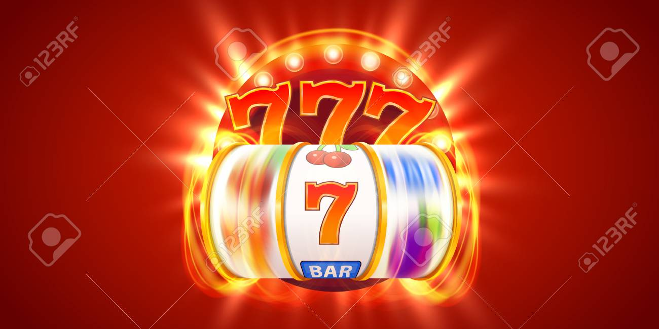 Golden Slot Machine Wins The Jackpot. Big Win Concept. Casino.. Stock  Photo, Picture And Royalty Free Image. Image 109488197.
