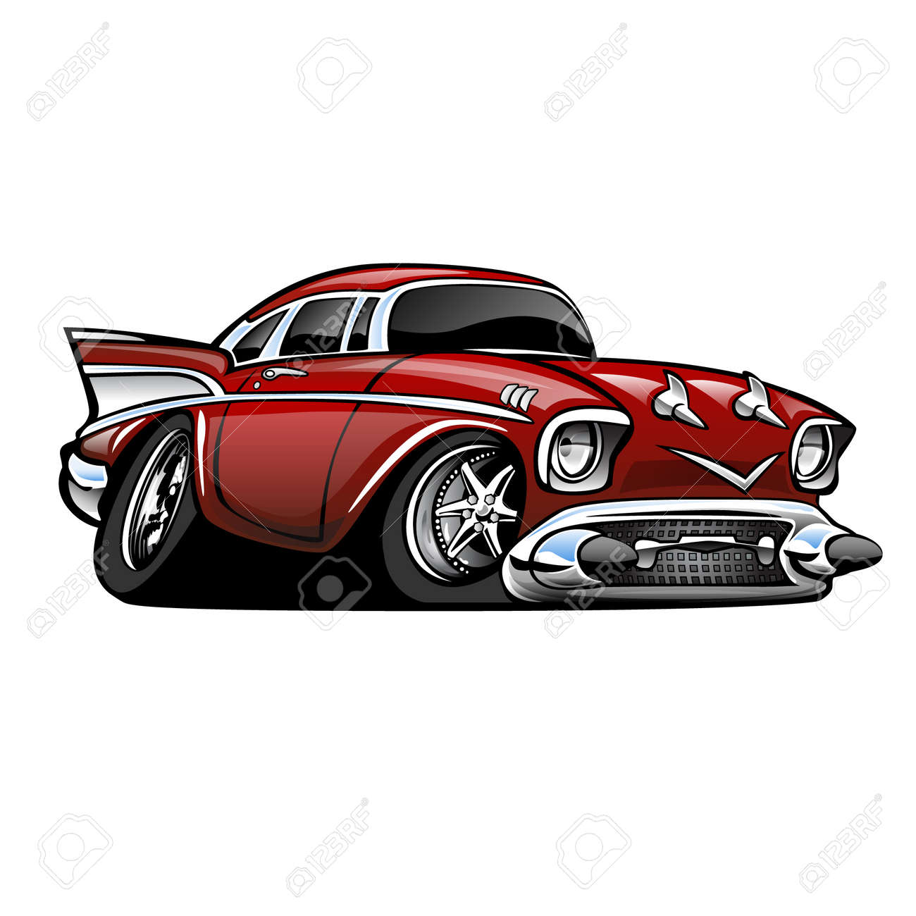 Classic Car Stock Illustrations Cliparts And Royalty Free