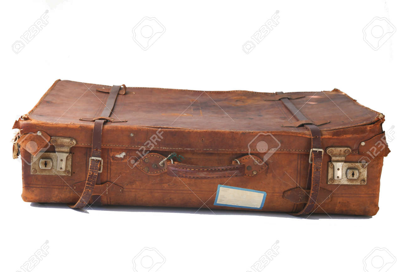 Old Fashioned Leather Suitcase | Luggage And Suitcases