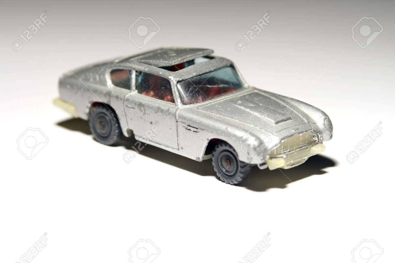 Childhood toy car used by James Bond Stock Photo - 8286163
