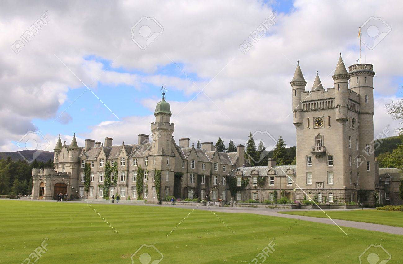 Balmoral castle, summer home of the British royal family Stock Photo - 11767259