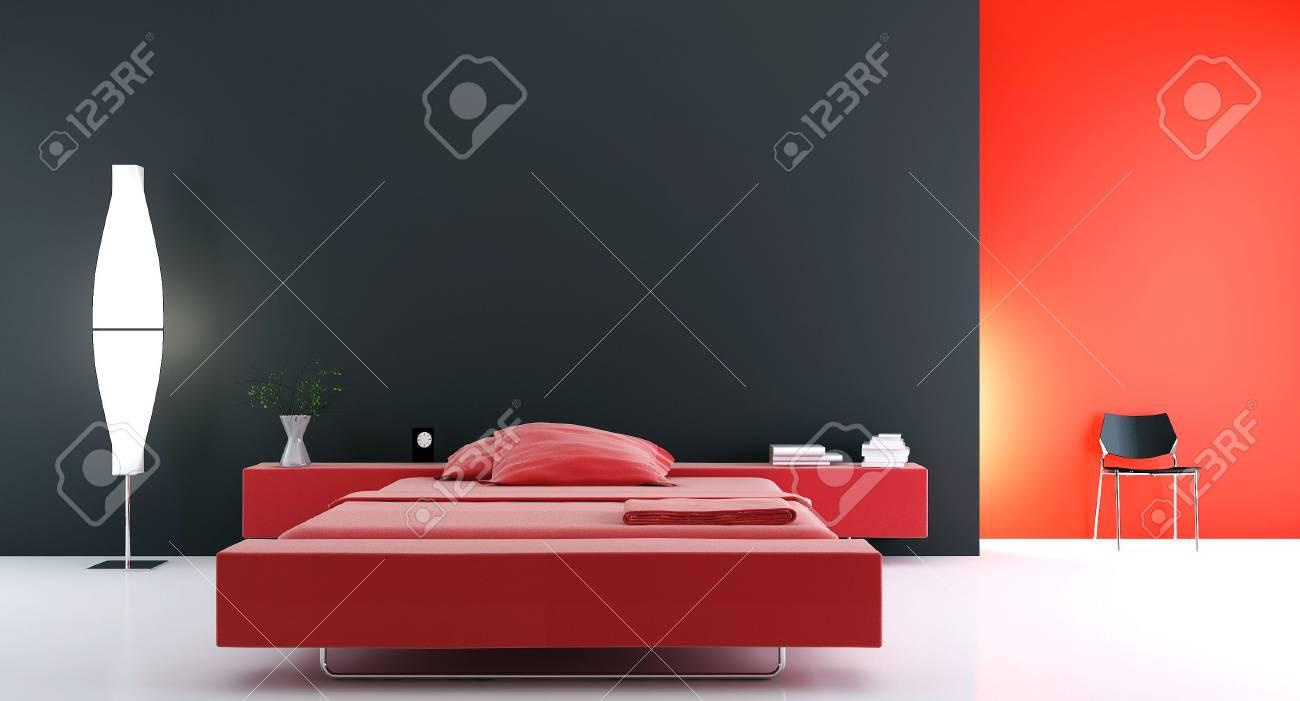 modern bed room - 5468249