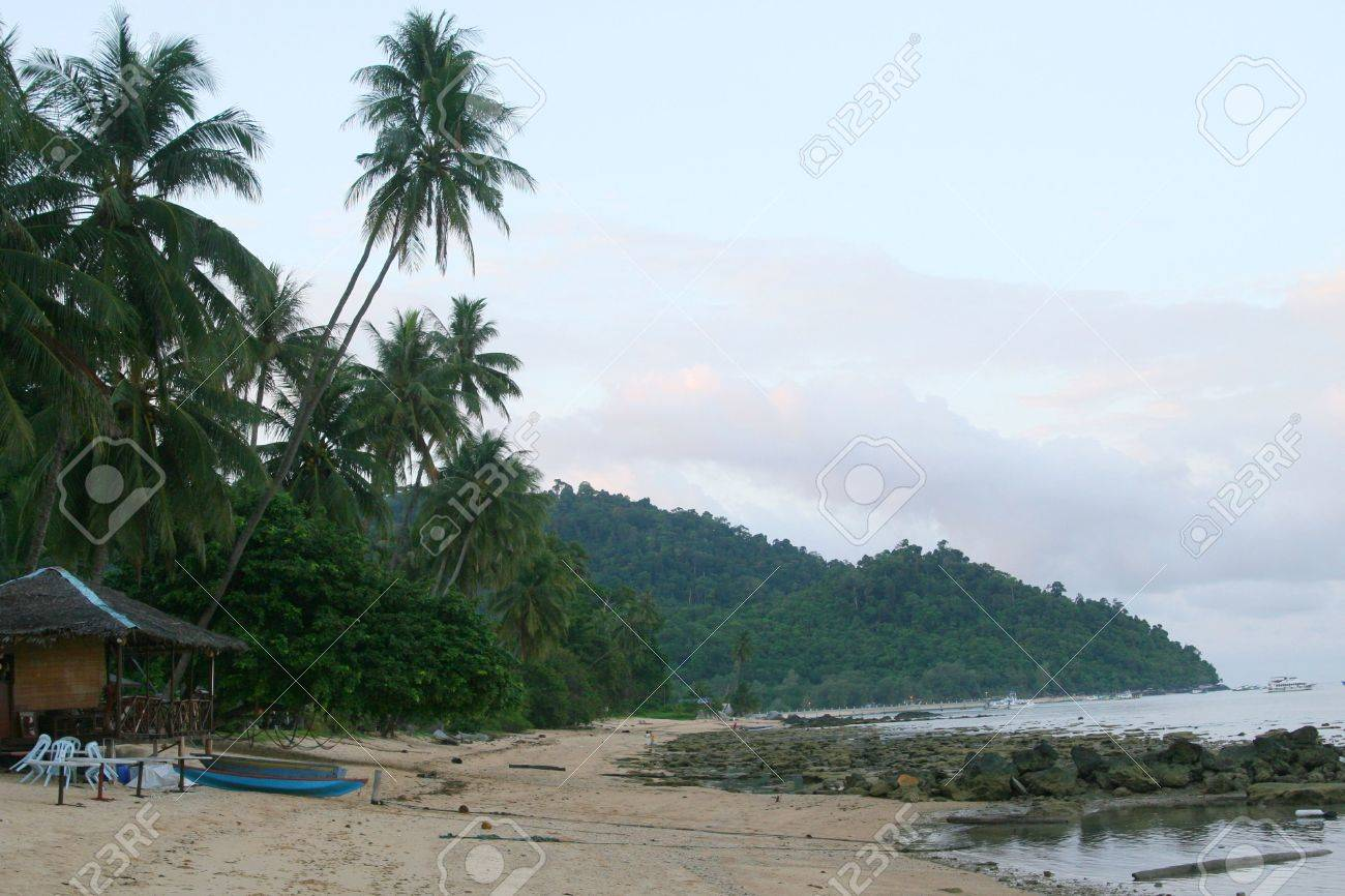 Malaysia beach Stock Photo - 2254741