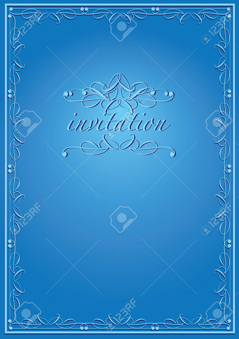 Vintage background luxury frame invitation card style royalty free vector vintage background luxury frame invitation card style stopboris Image collections