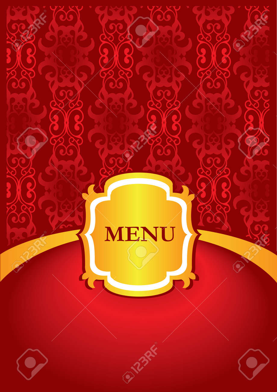 Illustration Of Restaurant Menu Cover Design Royalty Free Cliparts Vectors And Stock Illustration Image 15327364