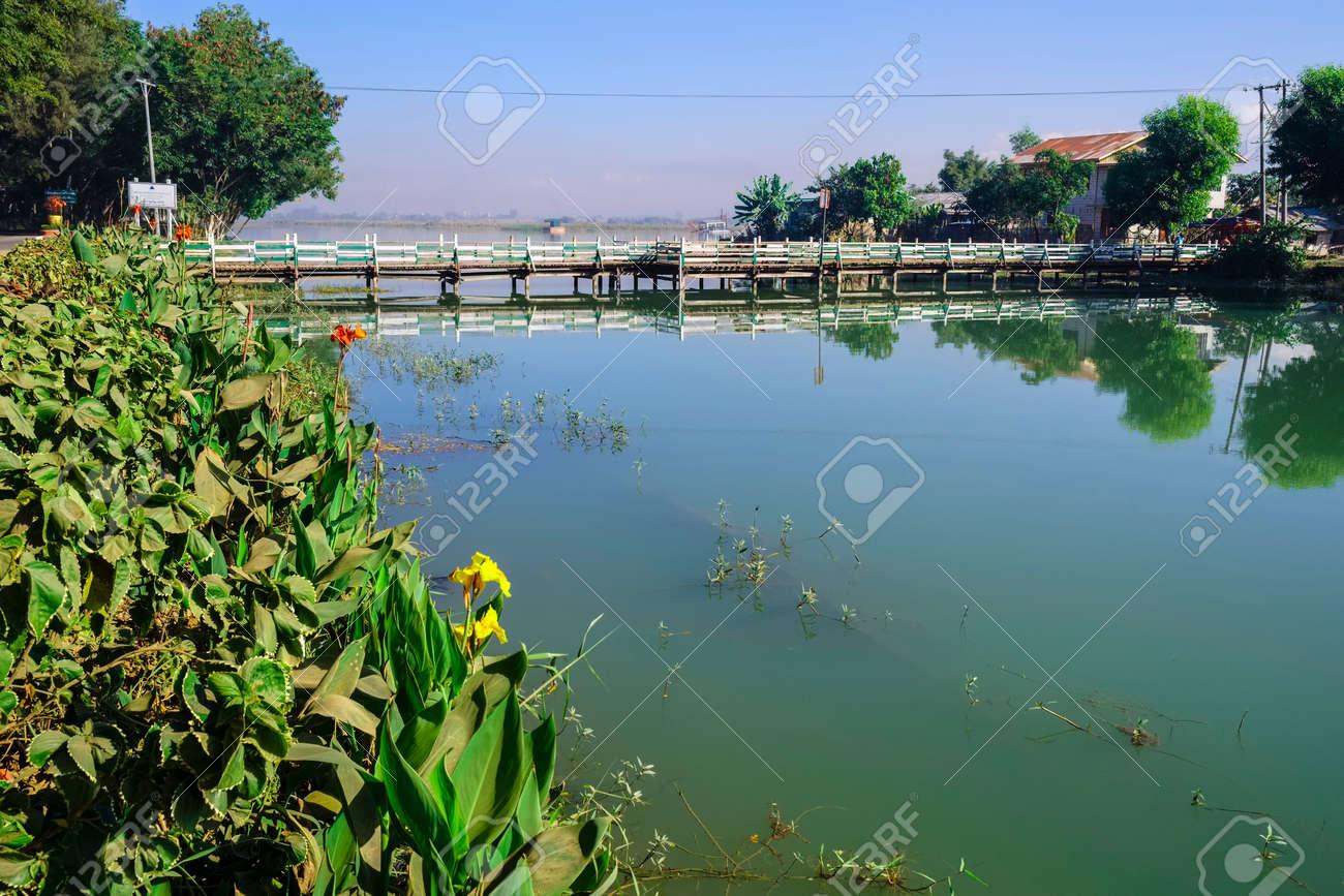 Thazi pond, Nyaung Shwe, Myanmar