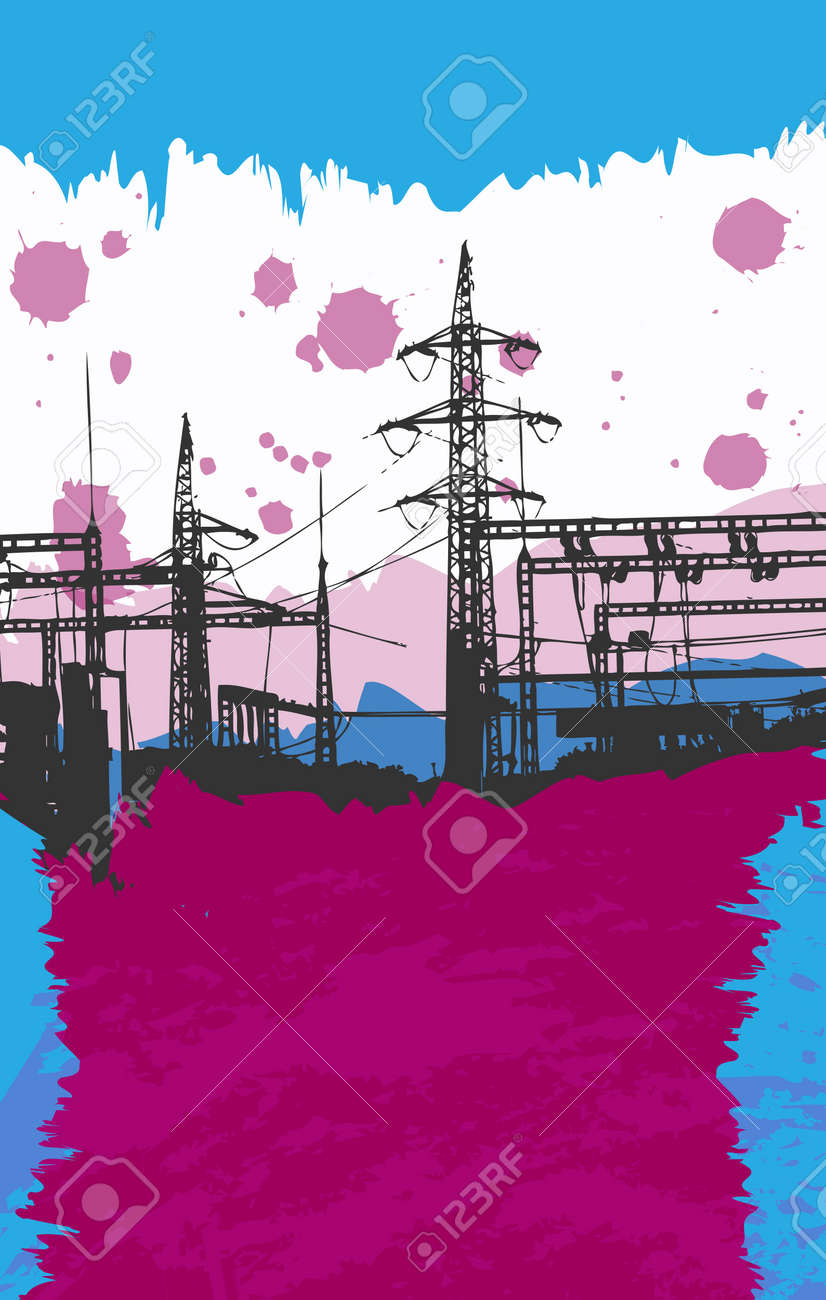 Grunge Poster for your Project Stock Vector - 11703664
