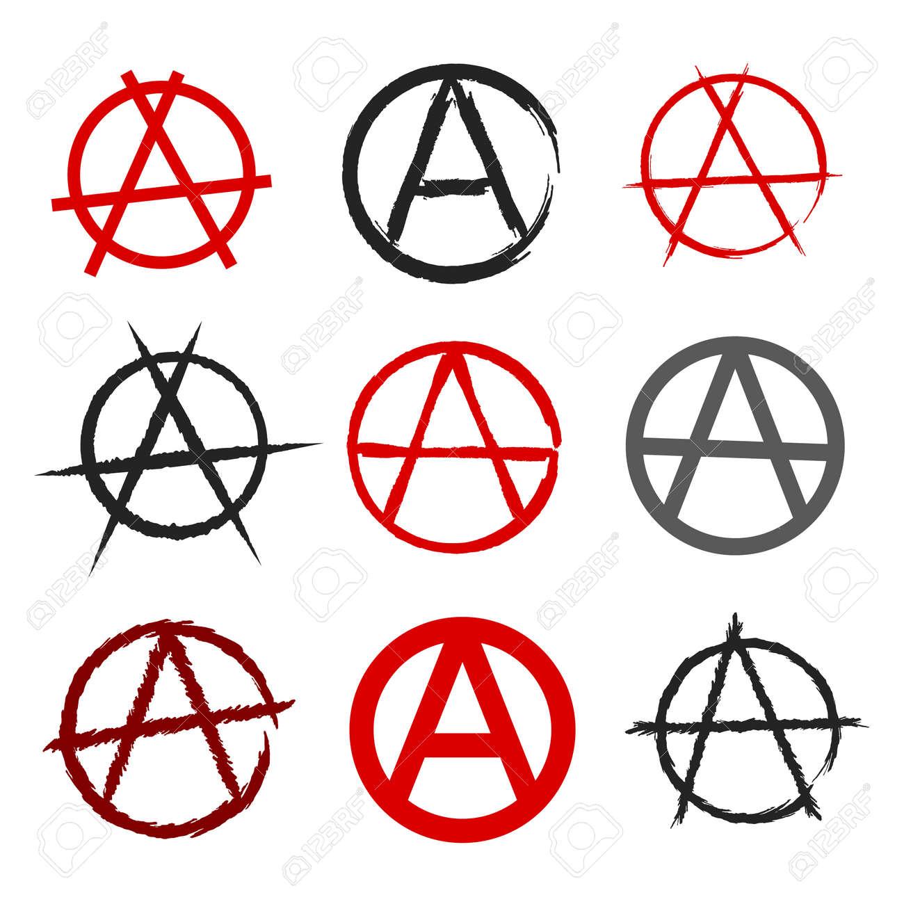 Anarchy symbol set royalty free cliparts vectors and stock anarchy symbol set stock vector 31672081 buycottarizona